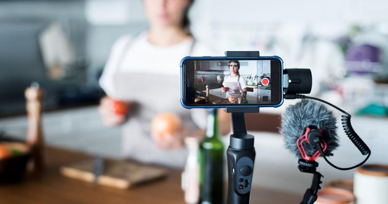 creation de contenu réseaux sociaux et live en 2020